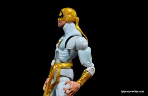 Marvel Legends Iron Fist figure review -chest and shoulder articulation