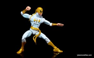 Marvel Legends Iron Fist figure review -deep fighting stance