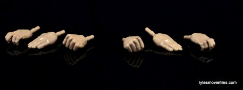 Marvel Legends Iron Fist figure review -hand accessories