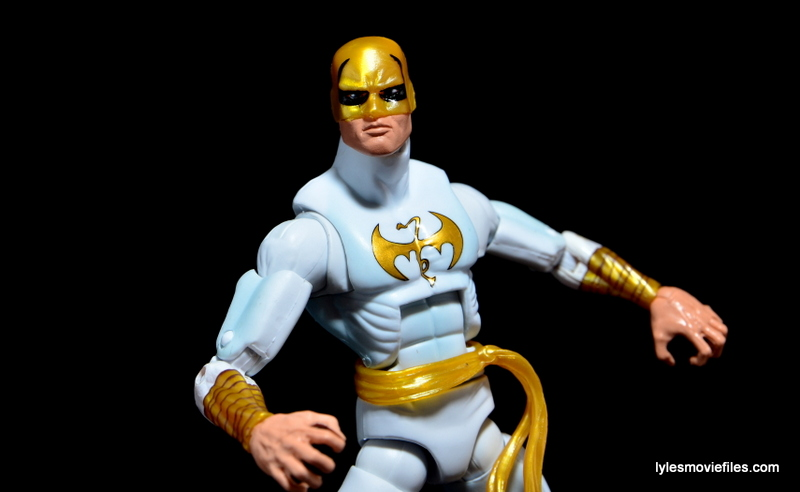 Marvel Legends Iron Fist figure review -wide pose