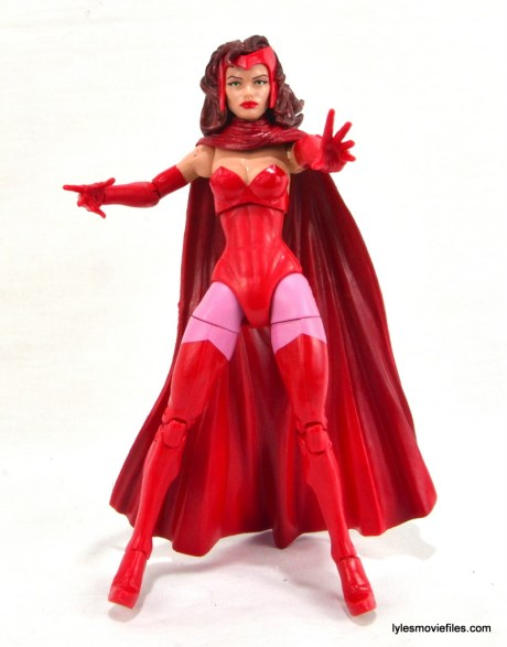 Marvel Legends Scarlet Witch figure review - straight up