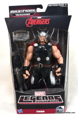 Marvel Legends Thor figure review - front package