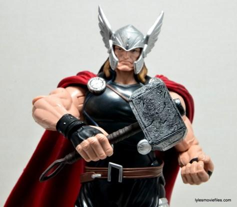 Marvel Legends Thor figure review - Mjolnir closeup