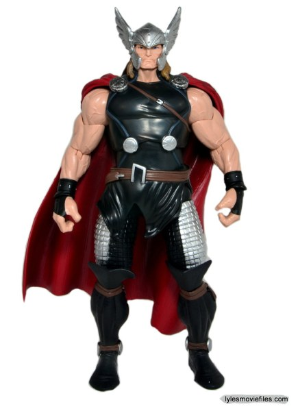 Marvel Legends Thor figure review -straight