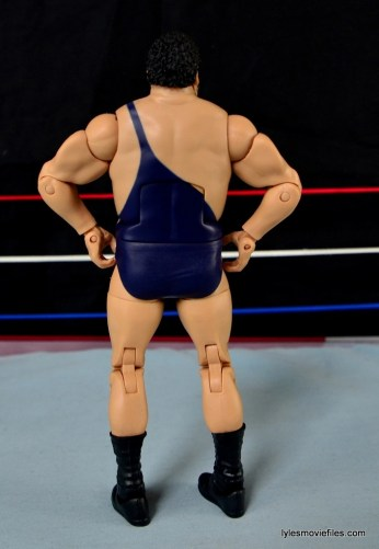 Mattel WWE Heenan Family set action figures review -Andre the Giant rear