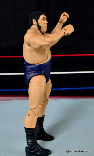Mattel WWE Heenan Family set action figures review -Andre the Giant right side