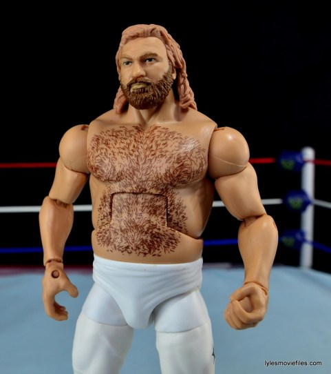 Mattel WWE Heenan Family set action figures review -Big John Studd close up
