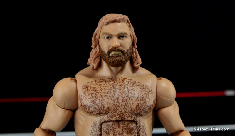 Mattel WWE Heenan Family set action figures review -Big John Studd spotlight pic