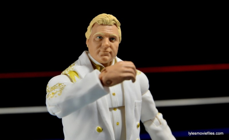 Mattel WWE Heenan Family set action figures review -Bobby the Brain thinking