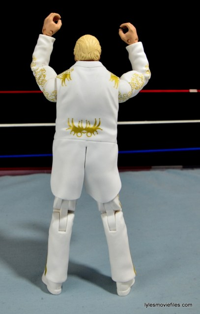 Mattel WWE Heenan Family set action figures review -Heenan rear