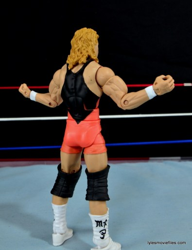 Mattel WWE Heenan Family set action figures review -Mr Perfect right side rear