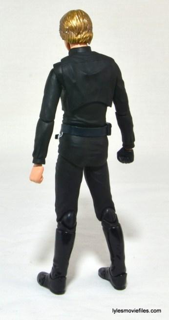 SH Figuarts Luke Skywalker figure review - left rear
