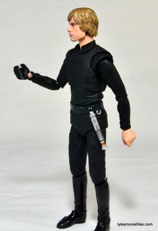 SH Figuarts Luke Skywalker figure review - wide left side