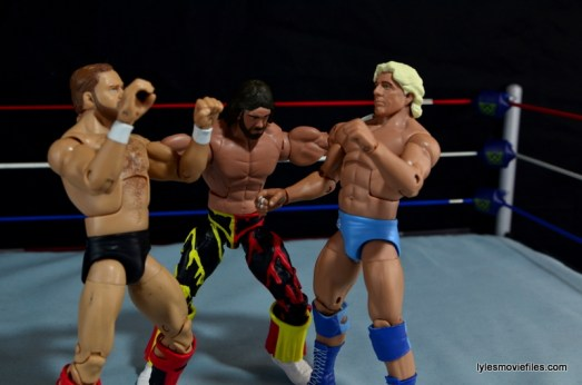 WWE Elite 38 Macho Man Randy Savage review -ramming Flair and Arn's head together