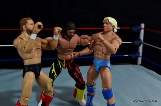 WWE Elite 38 Macho Man Randy Savage review -ramming Flair and Arn's head together