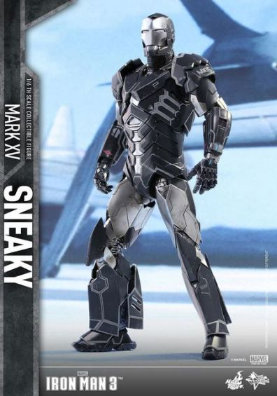 Hot Toys Iron Man Sneaky armor -battle ready