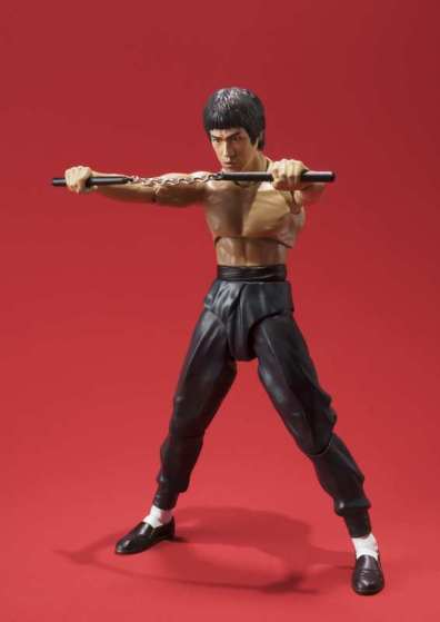 SH Figuarts Bruce Lee -blocking nunchuk