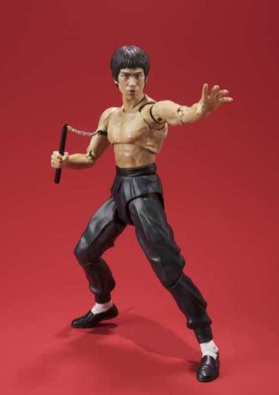 SH Figuarts Bruce Lee -nunchuk attack