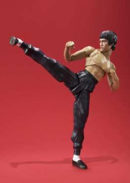 SH Figuarts Bruce Lee -side kick