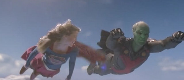 Supergirl Childish Things - Supergirl and Martian Manhunter