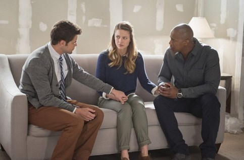 Supergirl recap Ep. 9 Blood Bonds - winn, kara and james