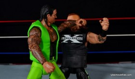 WWE Elite The Godfather review -elbow to Road Dogg