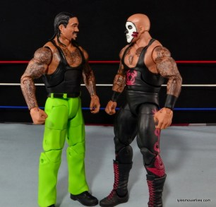 WWE Elite The Godfather review -face off Papa Shango