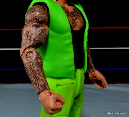 WWE Elite The Godfather review -right arm closeup