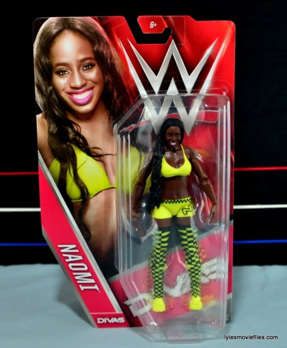 WWE Mattel Basic Naomi figure review - front package