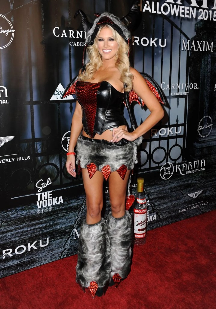 barbie-blank-halloween-party-10-24-2015 ex-wwe diva kelly kelly