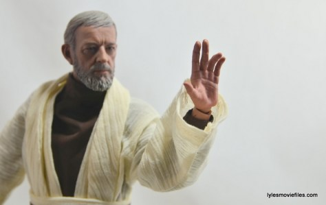 Hot Toys Obi-Wan Kenobi figure review -Force gesture