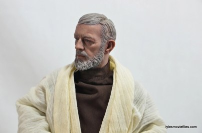 Hot Toys Obi-Wan Kenobi figure review - side portrait