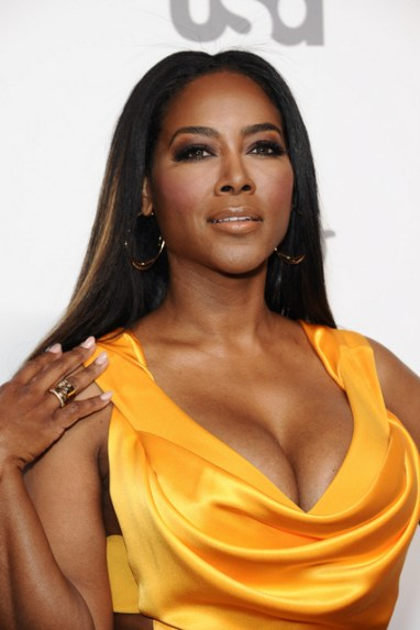 NEW YORK, NY - MAY 14: Kenya Moore attends the 2015 NBCUniversal Cable Entertainment Upfront at The Jacob K. Javits Convention Center on May 14, 2015 in New York City. (Photo by D Dipasupil/FilmMagic)