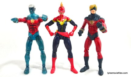 Marvel Legends Captain Marvel figure review - with Genis and Captain Mar-vell