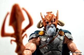 Marvel Legends Odin and King Thor review - Odin close up