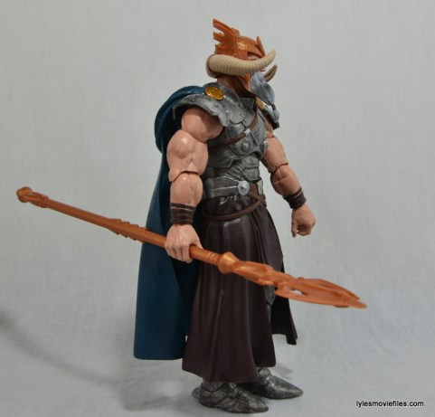 Marvel Legends Odin and King Thor review - Odin right side