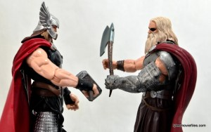 Marvel Legends Odin and King Thor review - Thor and King Thor