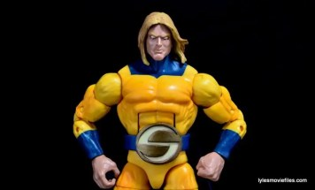 Marvel Legends Sentry figure review -heroic pose