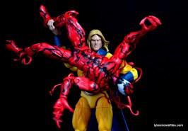 Marvel Legends Sentry figure review - vs Carnage