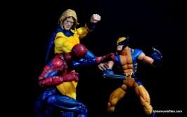 Marvel Legends Sentry figure review - vs Spider-Man and Wolverine