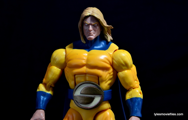 Marvel Legends Sentry figure review - wide pic