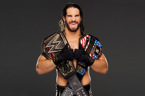 seth rollins with wwe and us titles