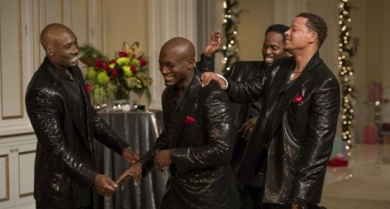 the best man holiday - morris chestnut, taye diggs, harold perrineau and terrence howard