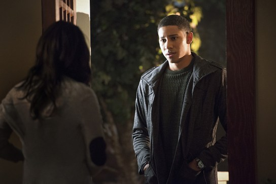 the flash - the reverse flash returns review - iris and wally