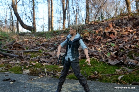 The Walking Dead Andrea figure review - action stance