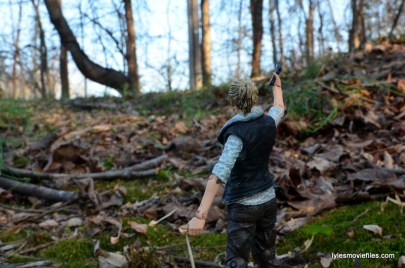 The Walking Dead Andrea figure review - aiming up hill