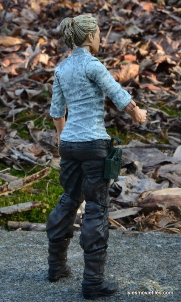 The Walking Dead Andrea figure review - right rear