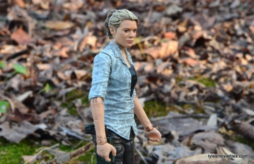 The Walking Dead Andrea figure review - wide side