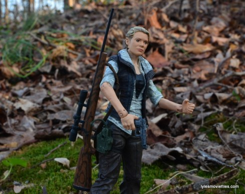 The Walking Dead Andrea figure review - with accessories
