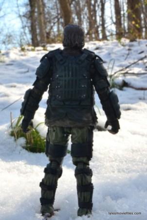 the walking dead eugene figure - rear
